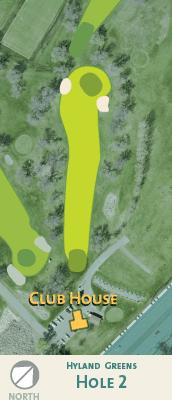 Hyland hole 2 map.