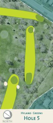 Hyland hole 5 map.