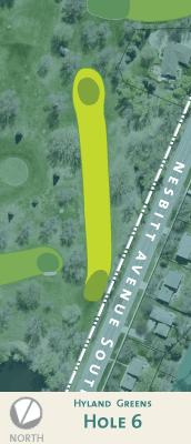 Hyland hole 6 map.