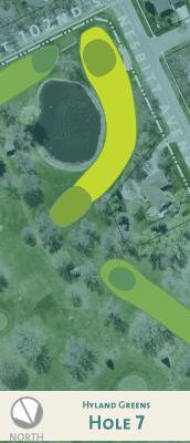 Hyland hole 7 map.