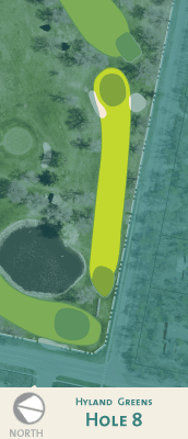 Hyland hole 8 map.