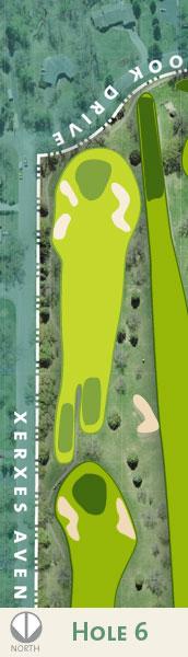 Dwan hole 6 map.