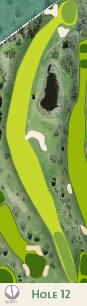 Dwan hole 12 map.