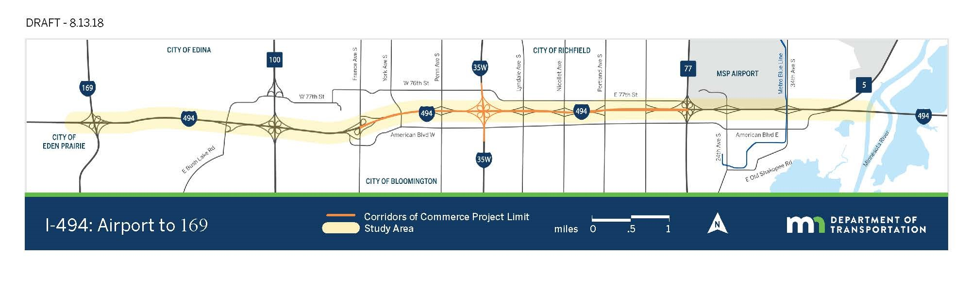 MNDOT Project Map