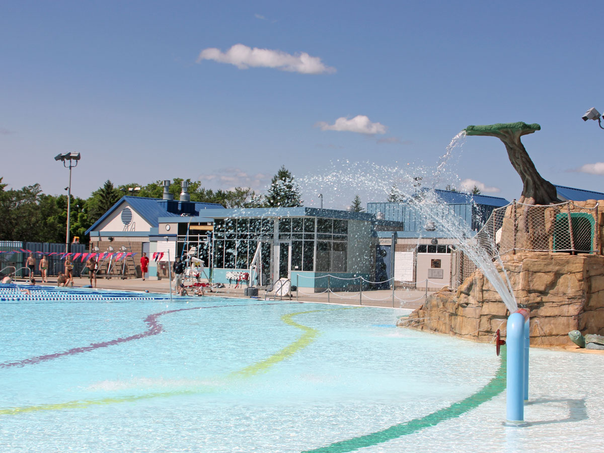 Aquatic Center—Water play area.