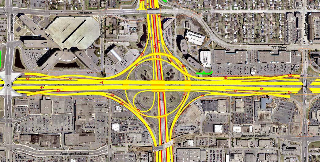 I 35w I 494 Interchange Improvements City Of Bloomington Mn